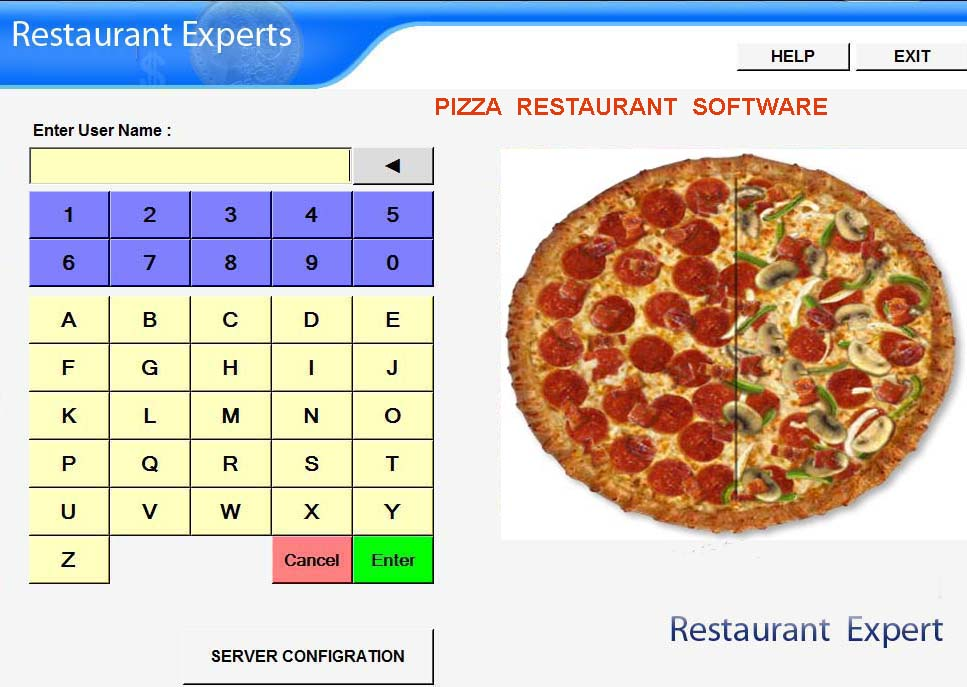 Restaurant software /  coffee shop software